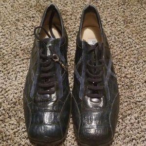 Belvedere Florence mens Crocodile shoes